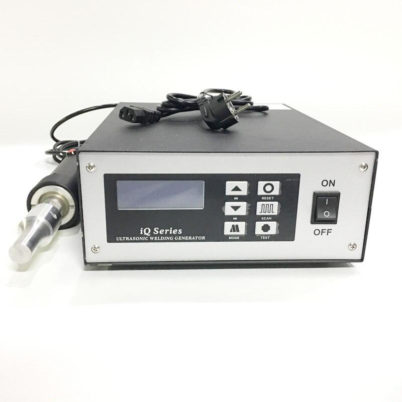 20khz 800W Hand-Held Ultrasonic Plastic Welding Machine For PE PP PVC