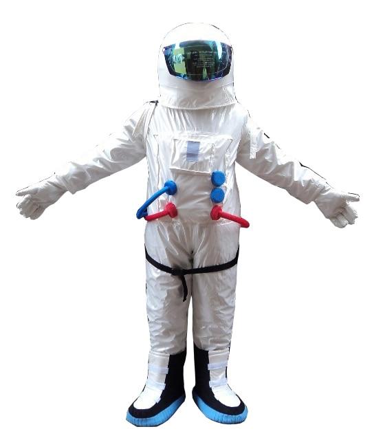 2017 Vânzare fierbinte! Costum de costum de mascot costum de calitate superioară Costum mascot astronaut cu rucsac cu mănuși LOGO, pantofiFrec