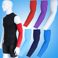 1X New One Arm Sleeve Cover Sun Armband Skin Protection Sport Stretch Basketball