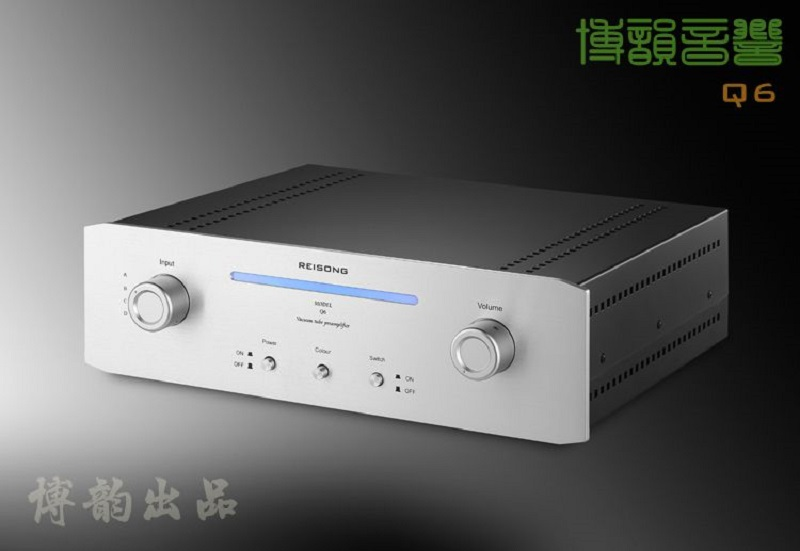 купить Reisong Boyuu A6 Replica M7 12AX7 Tube Pre-amplifier HIFI EXQUIS 6z4 Rectifier Pre-amp High Level Lamp Preamplifier BYM7 дешево