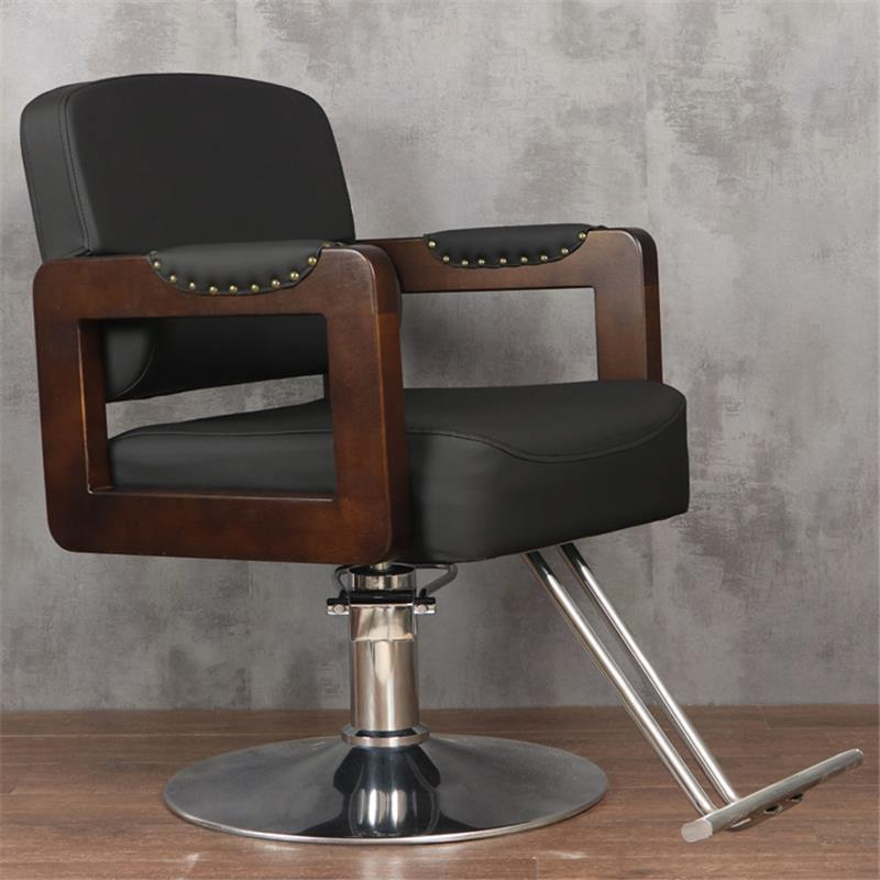 Schoonheidssalon Mueble Stoelen cappersstoelen Barbeiro Hair Sedie De Belleza Sedia Cadeira Salon Barbearia Silla парикмахерское кресло - Цвет: MODEL W