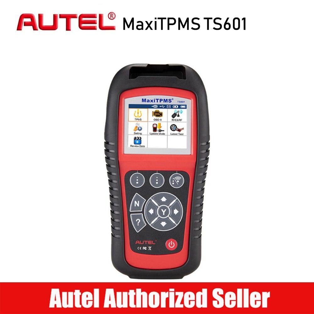 Autel MaxiTPMS TS601 TPMS Senza Fili TPMS Sensore Sensore di Reset Imparare di Nuovo Attivare La Funzione di Lettore di Codice Strumento di Programmazione con OBD2