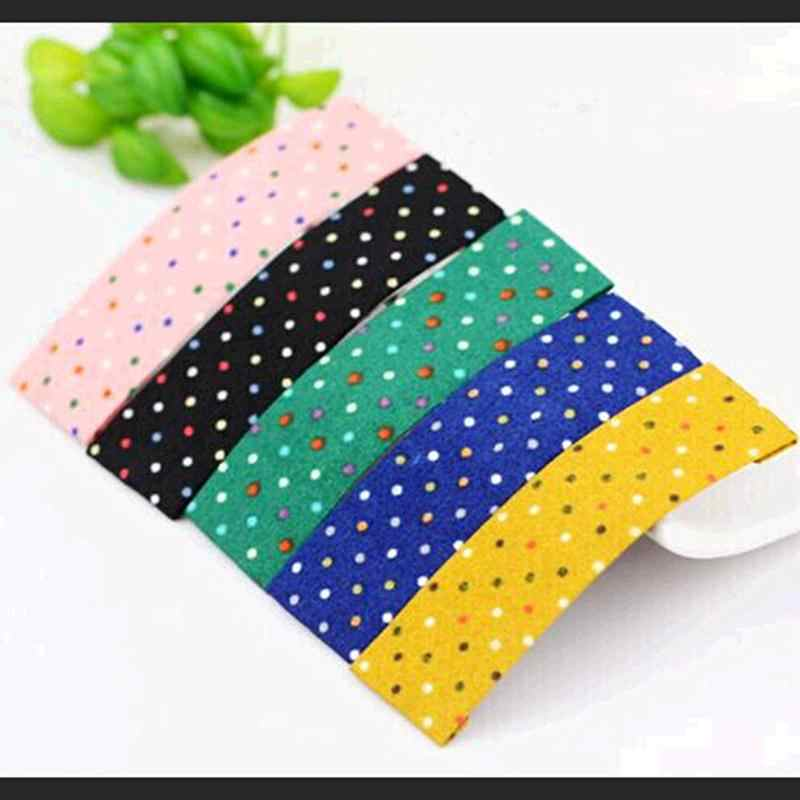 Colorful Dots Rectangle Cloth Hair Clips Bobby Pins Barrettes Fashion  Headwear Hair Accessories for Women