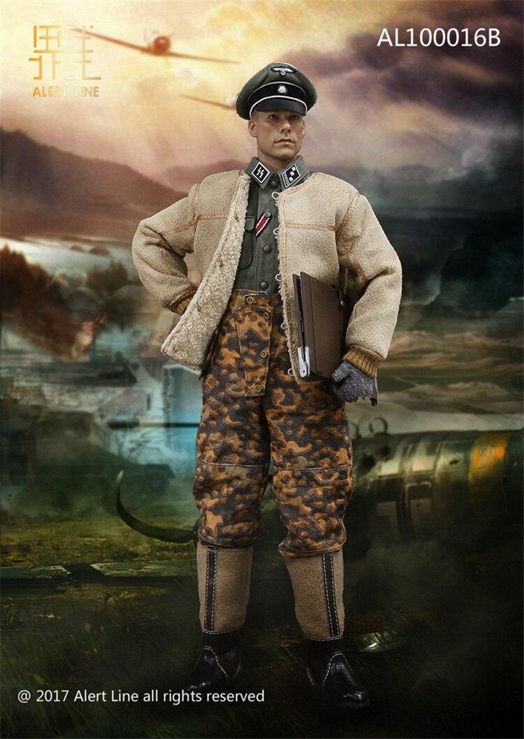 1//6 DRAGON DID SOLDIER STORY WWII GERMAN WAFFEN SS OAK LEAF WINTER TROUSERS NEW