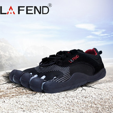 LAFEND Five Fingers Outdoor Slip Resistant Breathable Shoes