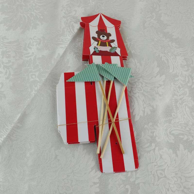 50 sztuk laserowo wycinane cyrkowe zwierzęta pudełko Favor cukierki pudełka Wedding Favor i prezenty dla gości Baby Shower dekoracje urodzinowe