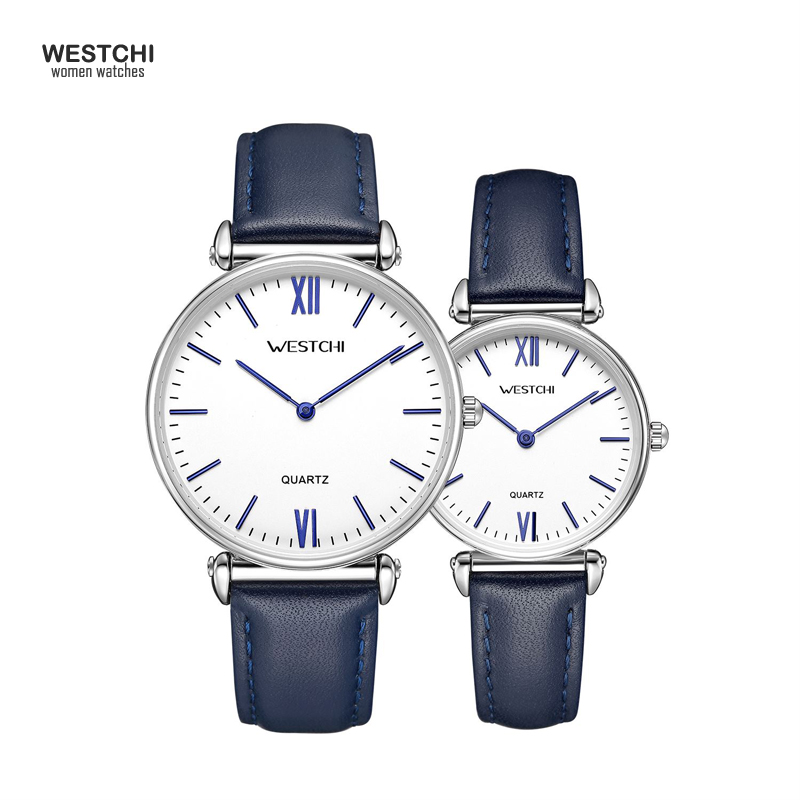 High Quality Men Women Simple Design Quartz Watch Top Brand Luxury Leather Male Female Wrist Watches Gift for Lover's Watches
