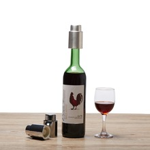 Stainless Steel  Wine Stopper Vacuum Bottle Fresh keeping Cap Gifts Bar Tools 2 PCS