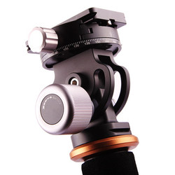 VH-10 Camera Tripod Aluminum Alloy Tilt Ball Head Panoramic with Arca-swiss quick release palte as RRS Tripod head for phone