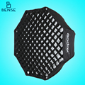 "GODOX 120cm / 48"" Portable Foldable Octagon Umbrella Softbox Photo Studio Flash Speedlite Diffuser Reflector with Honeycomb Grid"