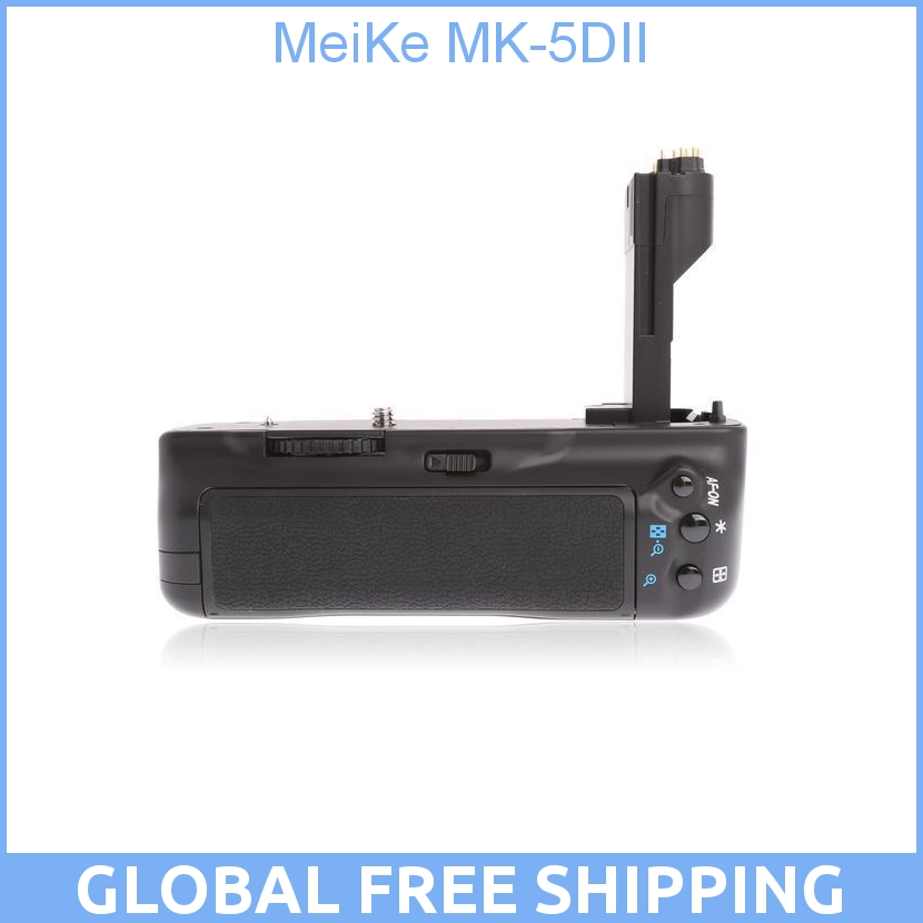 Meike Mk 5d Ii Mk 5d Mark Ii As Bg E6 Battery Grip For