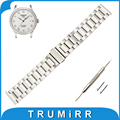 18mm 20mm 22mm Stainless Steel Watch Band + Quick Release Pins for Tissot 1853 Strap Wrist Belt Bracelet Black Rose Gold Silver