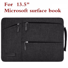 Fashion Sleeve Bag For Microsoft Surface Book Performance Base 13.5 Inch Tablet Laptop Pouch Case Protective Skin Keyboard Cover