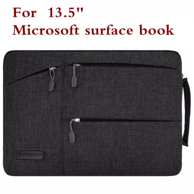 Fashion Sleeve Bag For Microsoft Surface Book 13.5 Inch Tablet Laptop Pouch Case Protective Skin Cover +Stylus + Keyboard Cover