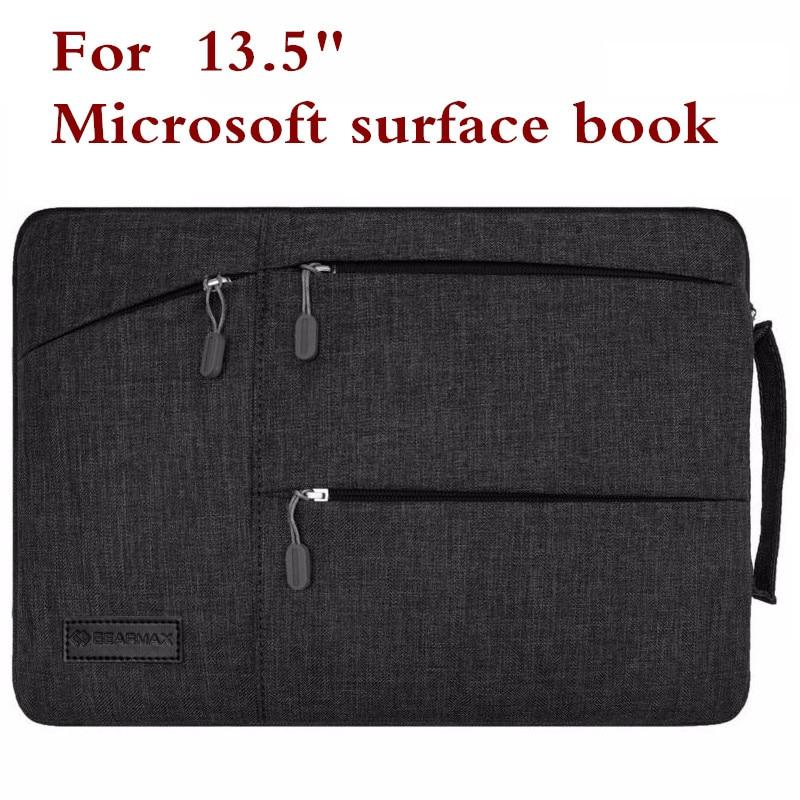 Fashion Sleeve Bag För Microsoft Surface Book2 Book Performance Base 13.5 Tablet Laptop Väska Skyddsväska Tangentbord Skal