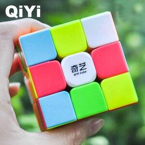Image 5 - QIYI Krieger W Geschwindigkeit Cube 3x3x3 Zauberwürfel 5,6 CM Professionelle Puzzle Rotierenden Glatten Cubos Magicos spielzeug für Kinder Geschenke MF3