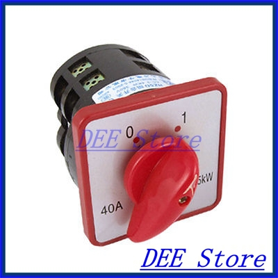 HZ5D Rotary Cam 2 Position Changeover Switch AC380V New 660v ui 10a ith 8 terminals rotary cam universal changeover combination switch