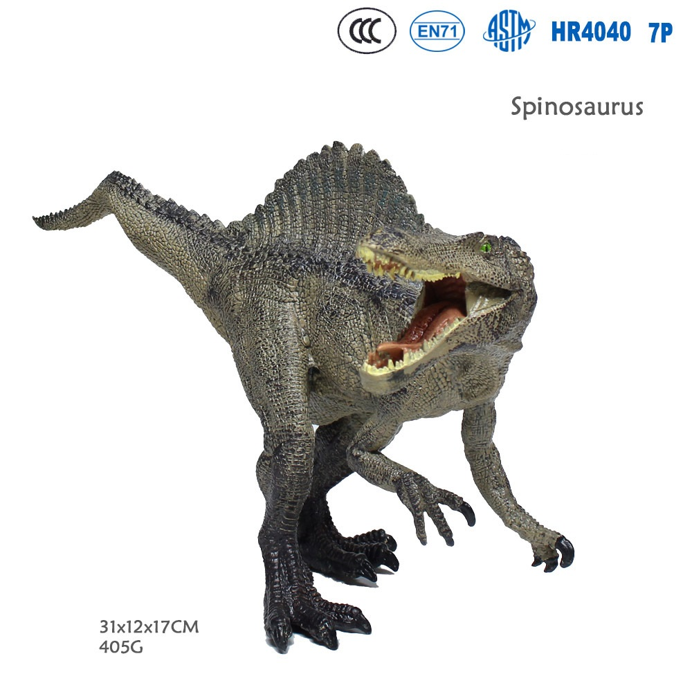 Spinosaurus Jurassic World Dinosaur Park Realistic Animal Model Action Figure Collectible Toys education boy Learn Figurine Gift distance education and a realistic teacher education pedagogy in uganda
