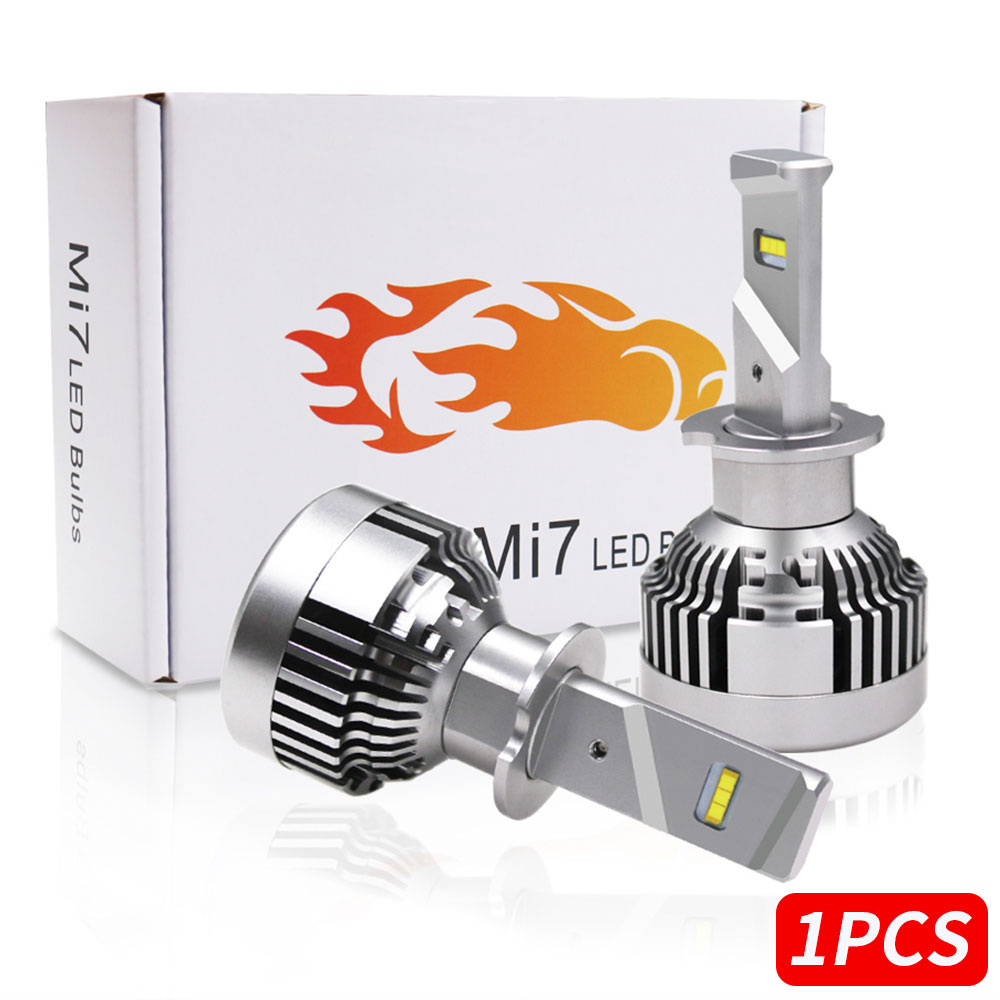 H3 DC12V LED Fog Light LED Headlight Universal Super Bright Automobile Lighting Assembly Replacement Front Lamp