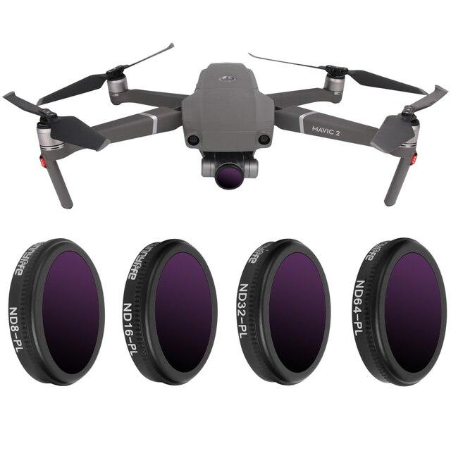 Per DJI Mavic 2 Zoom NDPL ND4/8/16/32 Densità Neutra Filtro Polare Set Avanzato Per mavic2 Zoom Accessori Lens Kit di Protezione