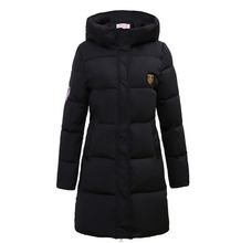 New 2016 women plus size winter hooded coat Slim Thick warm down cotton outwear long Padded cotton Jacket coat CE0433