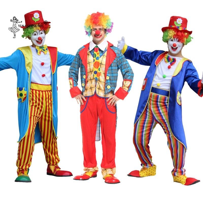 Halloween Adulto Traje Do Palhaço Arlequim Fantasia Fantasia Infantil Carnival Party Cosplay Impertinente 27 Cores Roupas Palco Cosplay