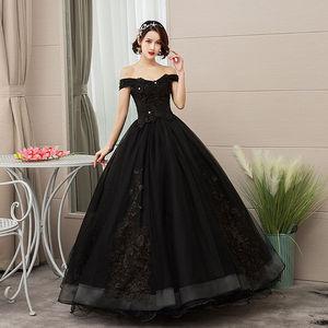 Image 3 - Mrs Win 2020 Vintage Quinceanera Jurken 4 Kleuren Kant Borduurwerk Vestidos De 15 Anos Luxe Party Prom Vestido Debutante F
