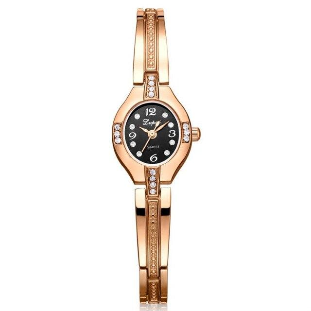 c3c50046b32 Hot Luxury Women Bracelet Watches Fashion Ladies Women Slim Stainless Steel  Rhinestone Quartz Wrist Watch relogio feminino 2018