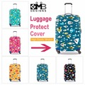 Latest Design Suitcase Cover Animal Patterns Trolley Accessories Elastic Waterproof Luggage Covers Spandex Luggage Protectors
