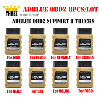 8pcs Lot AdblueOBD2 Adblue Emulator For Renault MAN DAF IVECO Volvo SCANlA Nox Emulator OBD2 Support