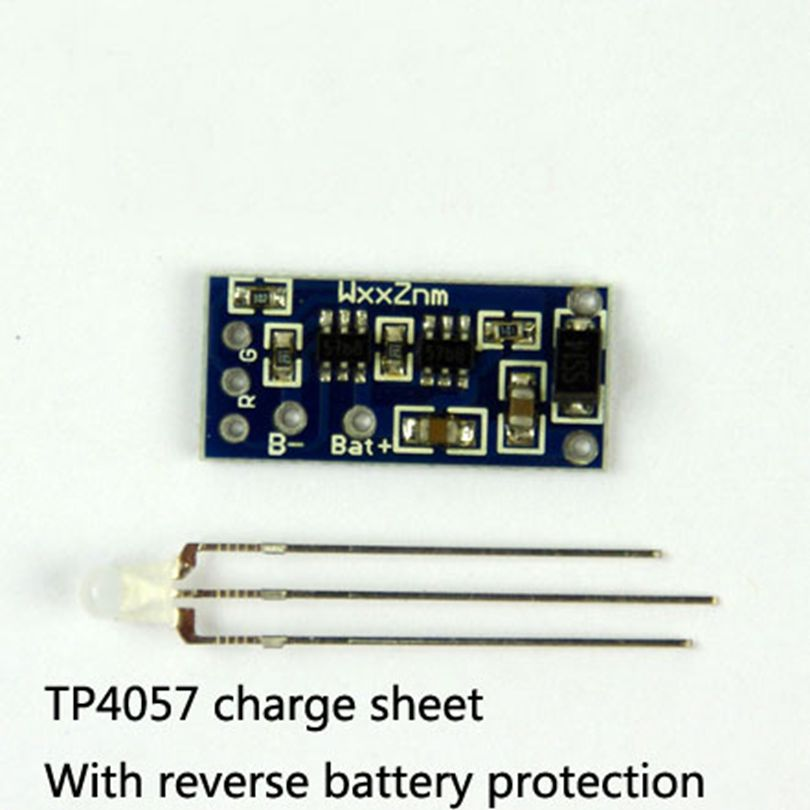 Lithium Battery Charging Board TP4057 1A DIY 18650 Rechargeable Polymer Battery Polarity Protection