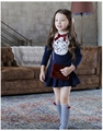 Promotion! Autumn & Winter New Long-sleeve Kids Fox Clothing, Girl Dress for Children
