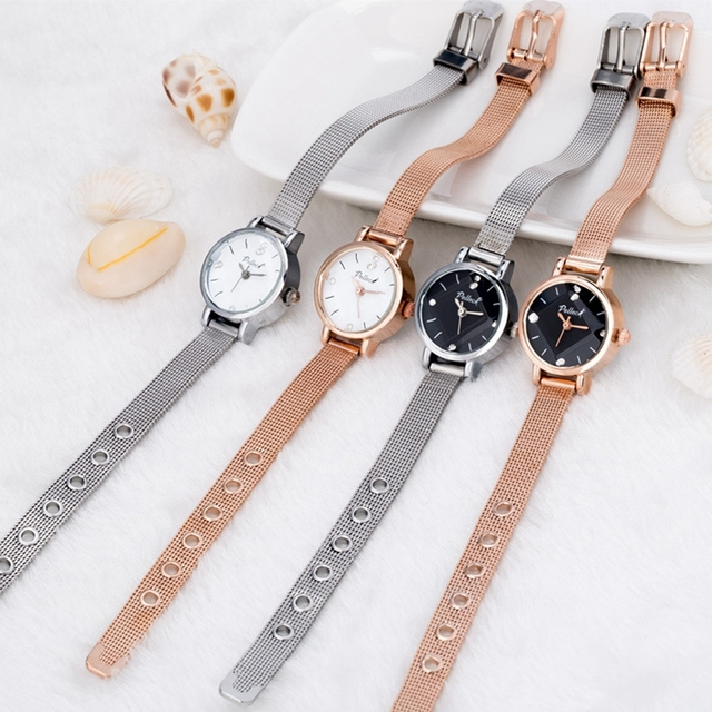 21.5cm New Ladies Wrist Watch Luxury Brand Crystal Women Casual Simple Dress Bra