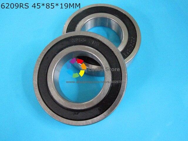 6209RS 1 Piece bearing metal sealing bearings  6209 6209RS 45*85*19mm CHROME STEEL DEEP GROOVE BEARING