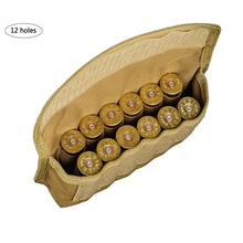 Tactical 12 Rounds Shotshell Reload Holder Molle Pouch for Gauge/20G Magazine Ammo Round Cartridge New