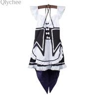 Ram Rem Cosplay Dress Re Zero Kara Hajimeru Isekai Seikatsu Kawaii Sisters Costume Maid Servant Dress