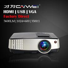 Small Size 1080P Home Multimedia Mini Home Game Theater Cinema  LED Projector HDMI USB VGA Portable for Kids