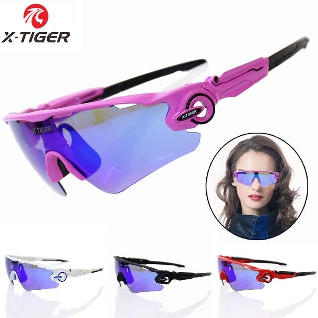 X-TIGER Mulheres Polarized SunGlasses Ciclismo MTB Bicicleta Da Bicicleta  Ciclismo Óculos Óculos de Ciclismo f910c14c9a