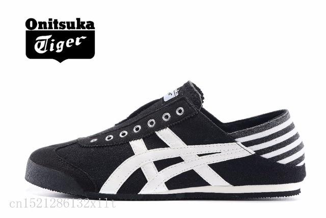 d83d4199 Onitsuka Tiger México 66 zapatos perezosos zapatos deportivas y de ocio  Zapatos negro/blanco size36