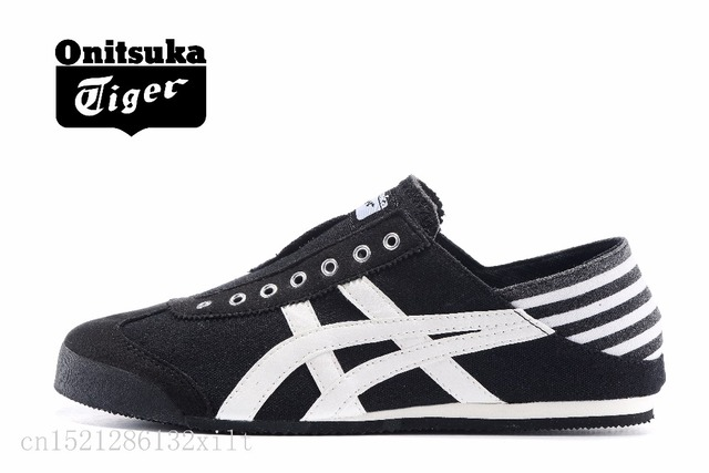 new style c4715 1d6bb onitsuka tiger mexico 66 black white