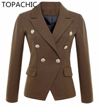 Buy brown blazer jackets and get free shipping on AliExpress.com