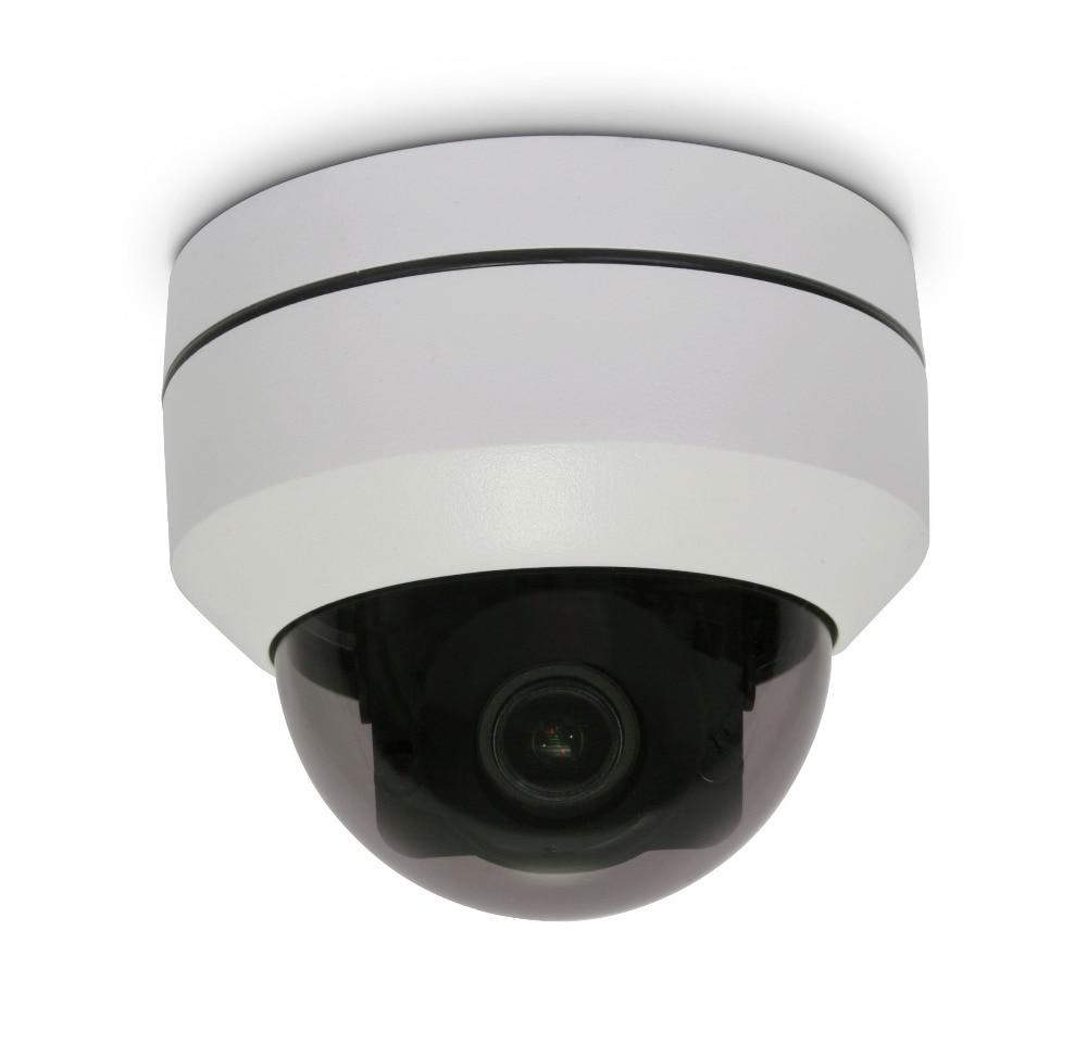 1080P Mini PTZ Dome IP Camera Outdoor PoE Zoom Motorized Pan Tilt CCTV Security Camera System Video Surveillance PTZ Camera wholesale hvt 2601 3 5 tft lcd camera cctv poe tester ptz controller zoom dvr