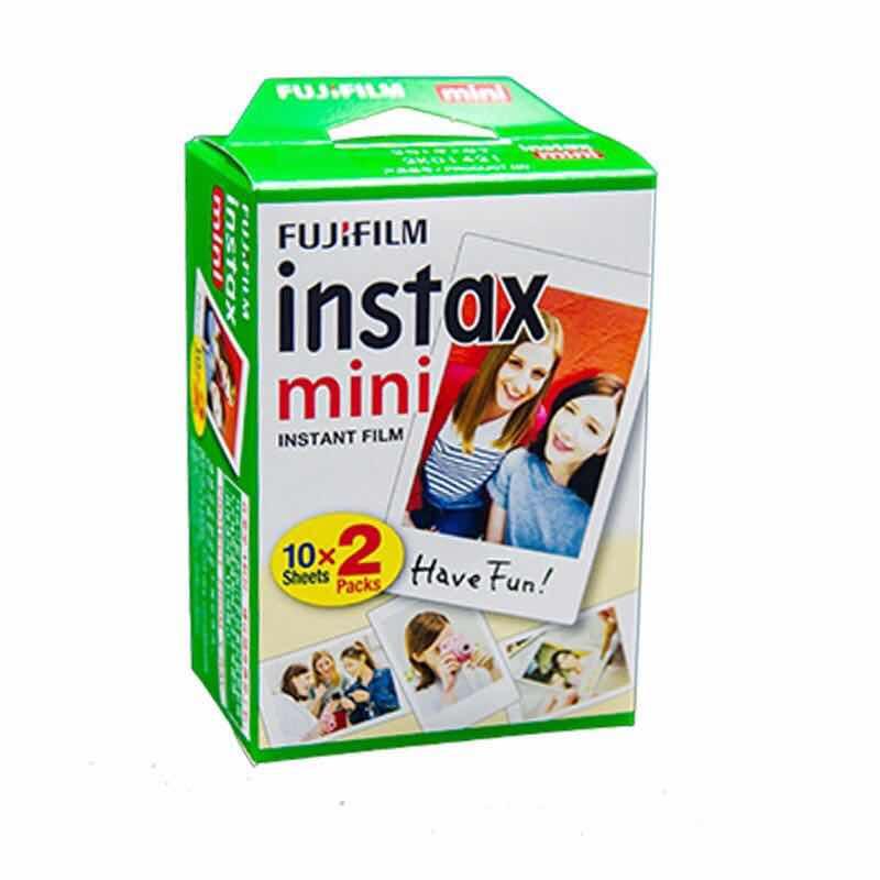100 feuilles Original Fujifilm Fuji Instax Mini Film blanc feuille pour Polaoird mini 7 7 s 8 10 20 25 30 50 s 55 70 50i SP1 lomo - 2