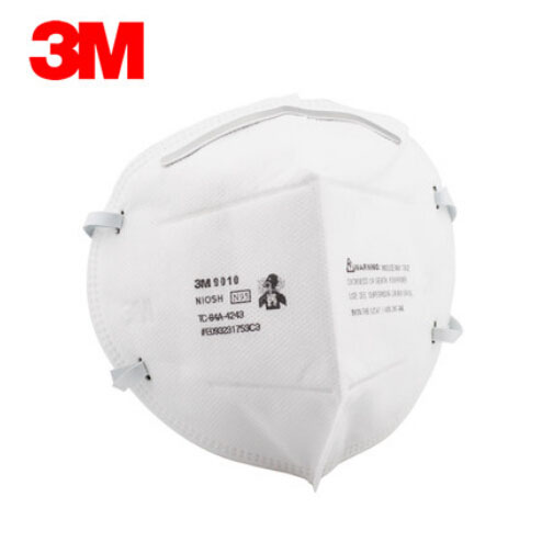 3M 9010 N95 Masks Anti-dust Anti-Flu H1N1 Protective Mask Certified NIOSH/LA Safety Mask Efficient Anti-static Filter H012819 3m 8822 safety protective mask anti pm2 5 ffp2 standard anti industrial dust high electrostatic filter h012817