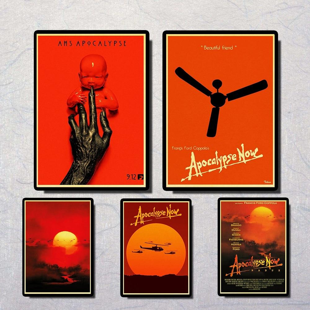 Apocalypse Now Marlon Brando Vintage Paper Poster Wall Painting Home Decoration 42X30 CM 30X21 CM