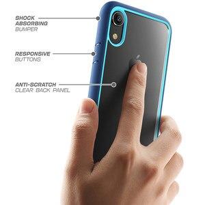 Image 3 - Supcase para o iphone xr caso capa 6.1 polegada ub estilo premium híbrido proteção magro claro caso de telefone para iphone xr 2018