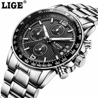 Luxury Brand Sport Men Watch Quartz Stopwatch Casual Charm Relogio Masculino Luminous Hands Chronograph Waterproof Date