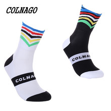 Cycling-Sport-Socks Colnago Professional High-Quality Brand Protect-Feet Breathable