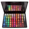 Nova Maquiagem Profissional Set Pro 88 Full Color Eyeshadow Earthtone 3D Tons Smokey Fosco Palette Kit Sombra de Olho Cosméticos
