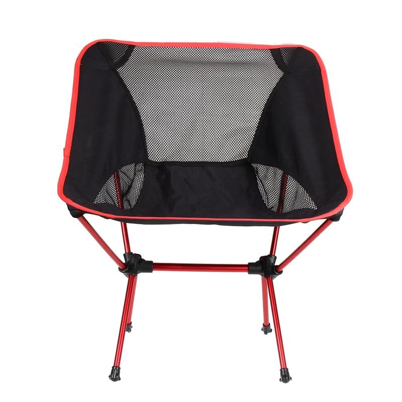 Ultra Light Fishing <font><b>Chair</b></font> Aluminium Alloy Fishing Seat Stool Camping Hiking Gardening <font><b>Chair</b></font> Folding Pouch <font><b>Chair</b></font> Top Quality